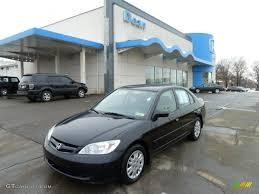 2004 Nighthawk Black Pearl Honda Civic LX Sedan #43339799 ...