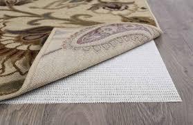 tayse rugs comfort grip ivory 8 round rug pad