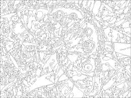 Small Picture 80 Best Paint Number Images On Pinterest Coloring Pages For Kids