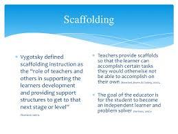 Scaffolding Definition Vygotsky Supplemental Learning Lev Vygotsky