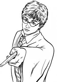 Harry Potter Coloring Sheets Coloring Pages For Kids
