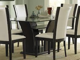 Wonderful Glass Dining Room Sets VECELO Glass Dining Table Set For - Images of dining room sets