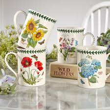 portmeirion botanic garden mug set