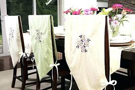 diy chair covers how to make dining room no sew