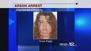 Carteret County woman faces arson and embezzlement charges | WCTI
