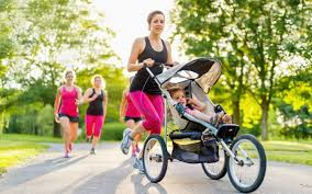 Proper Form for Running or Walking With Baby - Parenting Now!