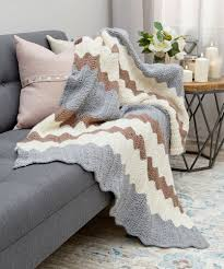 Free Blanket Knitting Patterns Fascinating Gorgeous Knit Throws Red Heart