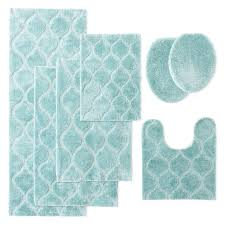 innovative aqua bathroom rugs bath rugs everything turquoise