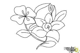 Small Picture How to Draw Flowers Step by Step DrawingNow