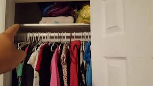 the tiny closet remodel double the clothes space