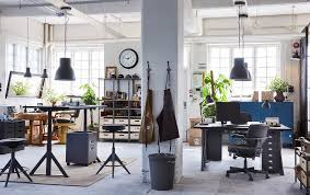 Image Furniture Ideas Ikea IdÅsen Office Furniture Is Flexible For Big Businesses To Small Startups Like This One In Mexicocityorganicgrowerscom Ikea For Business Ikea