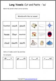 While we talk related with ou ow phonics worksheets, below we can see some similar pictures to complete your ideas. Long Vowel Sounds Worksheets And Resources Easyteaching Net