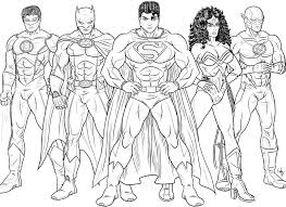 Small Picture Free Justice League Coloring Pages Enjoy Coloring Boys room
