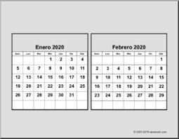 Desk Calendar Printable 2020 Spanish Calendar Spanish Cd Desk Calendar Printable