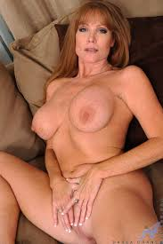 Milf playing with boobs