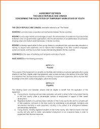 Sample Letter Of Agreement 24 Letter Of Agreement Template Between Two Parties Purchase 13