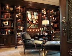home office library ideas. Classic-sophisticated-home-library-robeson-design Home Office Library Ideas