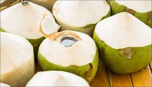 Image result for coconut in water