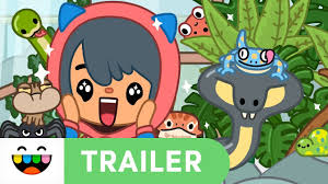meet friends with paws claws trailer toca life pets toca boca