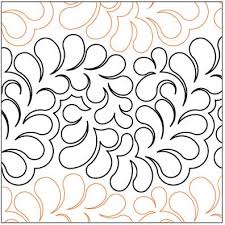 146 best Pantos I Have images on Pinterest | Quilt block patterns ... & Bountiful Feathers Grande quilting pantograph pattern by Lorien Quilting Adamdwight.com