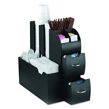 office coffee cabinets. Mind Reader Coffee Condiment And Accessories Caddy Organizer, Black Office Coffee Cabinets