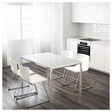 ikea glass dining table set dining room ideas