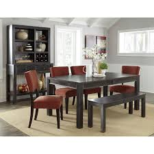 the brick dining room sets. Brilliant Dining Gavelston Dining Room Set W Brick Chairs And Bench With The Sets F