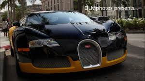 Bijan's Black & Yellow Bugatti Veyron On Rodeo Drive In Beverly ...