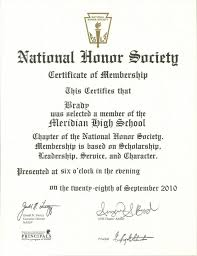 Perfect National Honor Society Letter Of Recommendation Example On