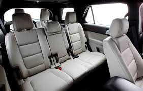 does ford edge have 3rd row seating
