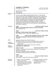 Resume Layout Word Example Resume Ms Word 2007 Noxdefense Com