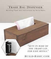 build a trash bag dispenser