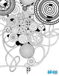 Circles And Rosettes Coloring Page Dbt Pinterest Rosettes