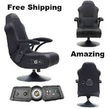 office chair with speakers. Image Is Loading Wireless-X-Rocker-Gaming-Chair-With-Speakers-Bluetooth- Office Chair With Speakers
