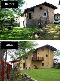 Exterior Painting Before After 5png 1000382 House Facade