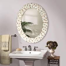 Decorating Bathroom Mirrors Bathroom Mirror Decorating Ideas Locketnecklaceorg