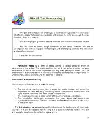 englishfourthquartermodule  a reflective essay 10