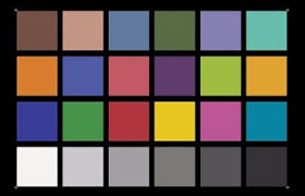 Photographer Chart 24 Color Checker Chart Photographer Color Test Chart Buy 24 Color Checker Chart Colorchecker Passport Photographer Color Test Chart Product On