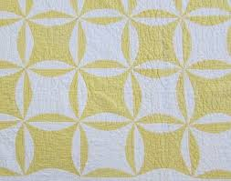 24 best Rob Peter to pay Paul quilt images on Pinterest   Bobs ... & Gorgeous! dated 1920 Antique Yellow & White QUILT Robbing Peter Pay Paul Adamdwight.com