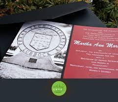 Texas Tech Graduation Invitations Martha Moretich