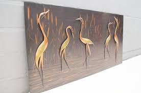 copper herons wall object 1960s previous next