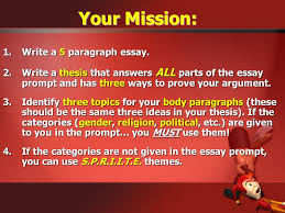 "writing a ""killer"" compare contrast essay ppt video online  your mission write a 5 paragraph essay"