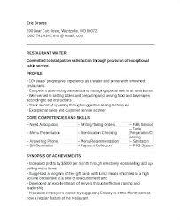 Waiter Job Description For Resume Best Of Resume For Waiter Waitress