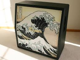 Best Guitar Amp Cabinets Great Wave Off Kanagawa Cab Grillclothe Music Gear I Need