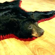 bear skin rug meme grizzly fake