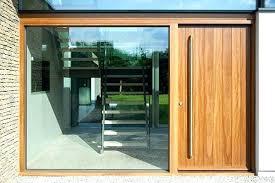 modern glass exterior doors timber and front