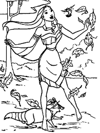 Small Picture Real Pocahontas Coloring Pages Coloring Coloring Pages