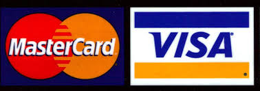 Image result for visa mastercard logo on black