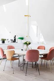 impressive pink dining chair por chairs contemporary room intended for remodel 8