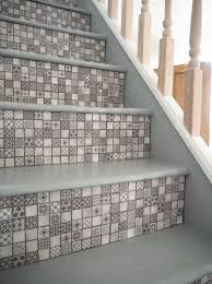using tiles to decorate stair risers is the next big interior design trend
